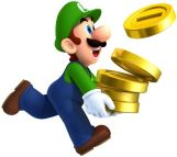 mario-or-luigi-with-coins